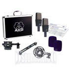 AKG C414BXLSST Matched Pair of C414xls Studio Mics