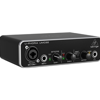 Behringer UMC22 U-Phoria 2x2 USB Audio Interface